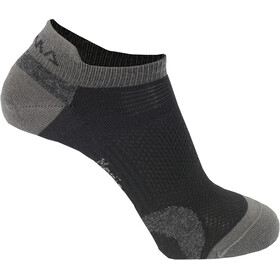 Aclima Ankle - Calcetines - 2-Pack gris/negro